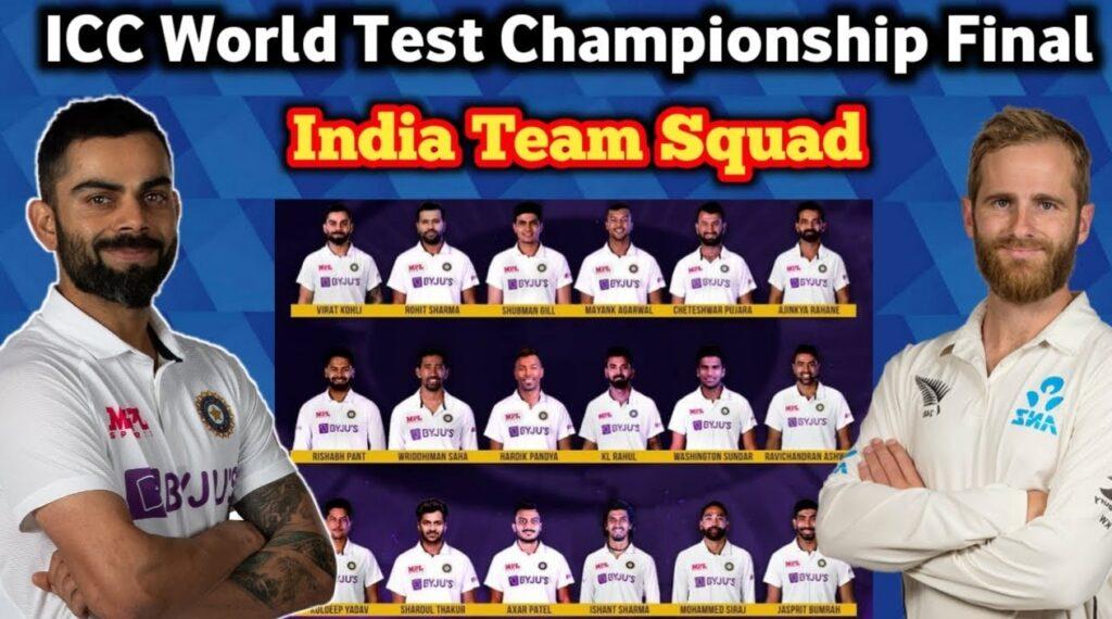 IND vs NZ, Final, ICC World Test Championship Final 2021