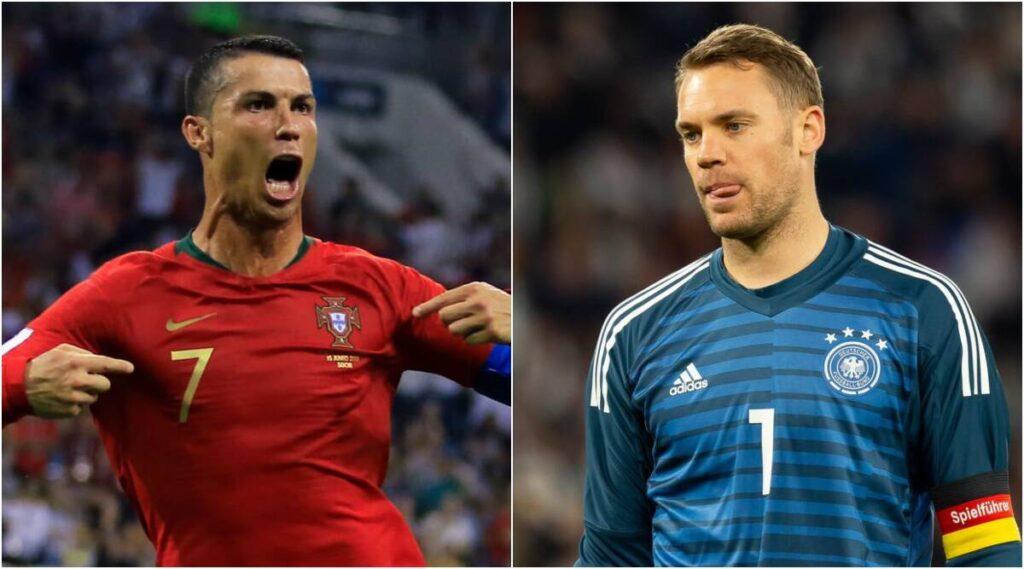 Portugal vs Germany Football Live Score